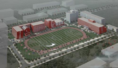 北京市第55中学改扩建项目